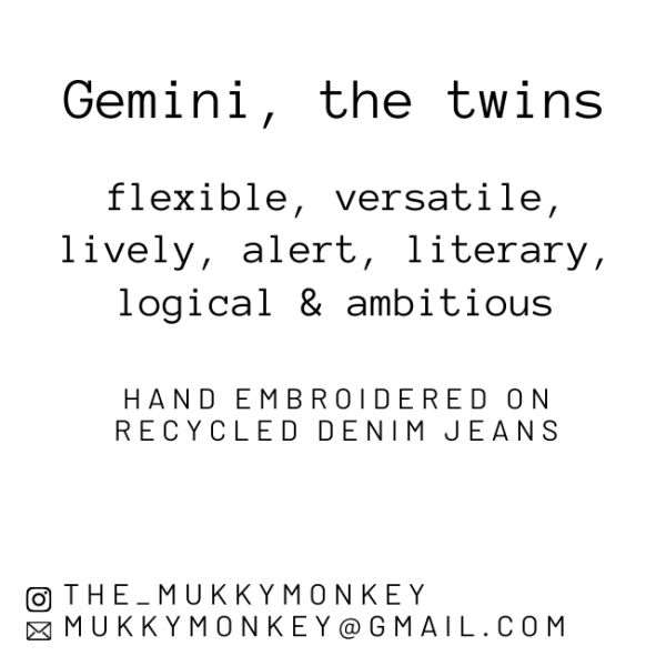 Gemini Star Constellations Miniature Frame - Gemini 1