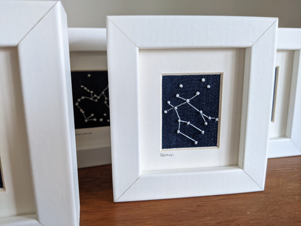 Gemini Star Constellations Miniature Frame