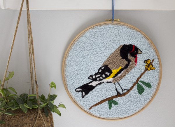 Goldfinch Wallhanging