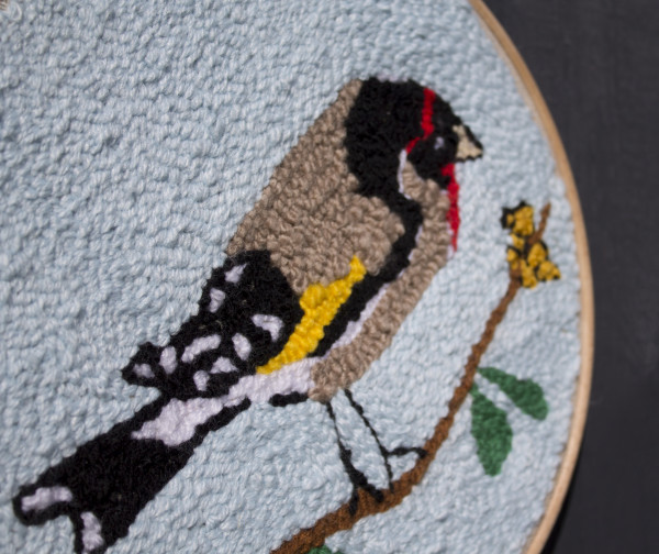 Goldfinch Wallhanging - Goldfinch8 scaled