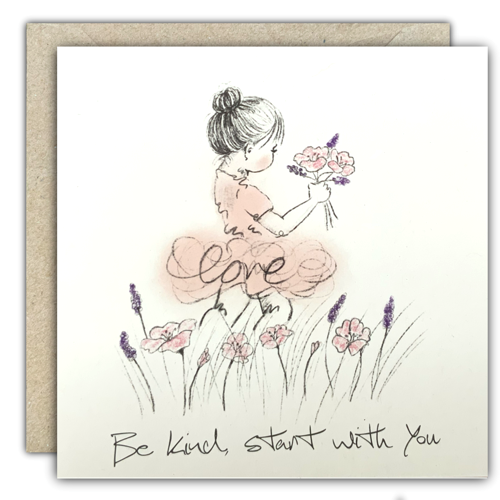 Be kind, start with you