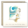 When It's Dark Look For The Stars Greeting Card