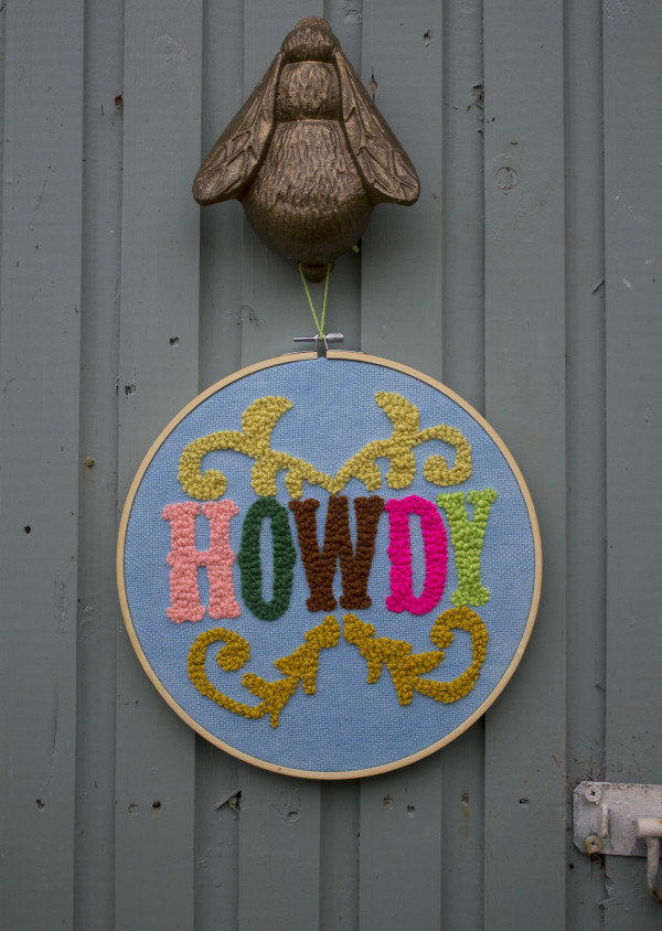 Howdy Wallhanging