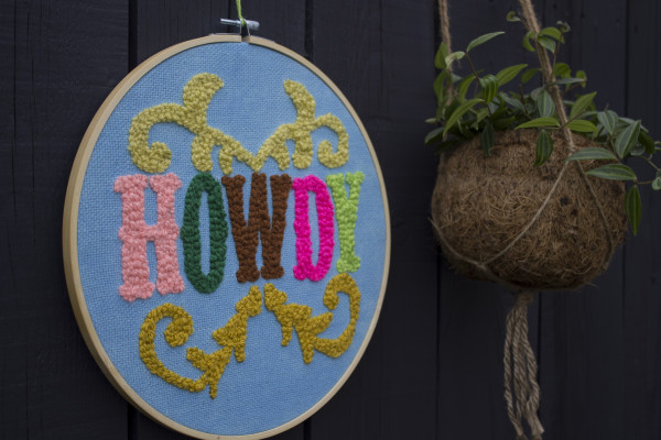 Howdy Wallhanging - Howdynew2 scaled