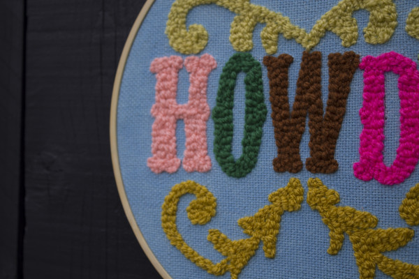 Howdy Wallhanging - Howdynew3 scaled