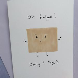 Sorry I Forgot Card