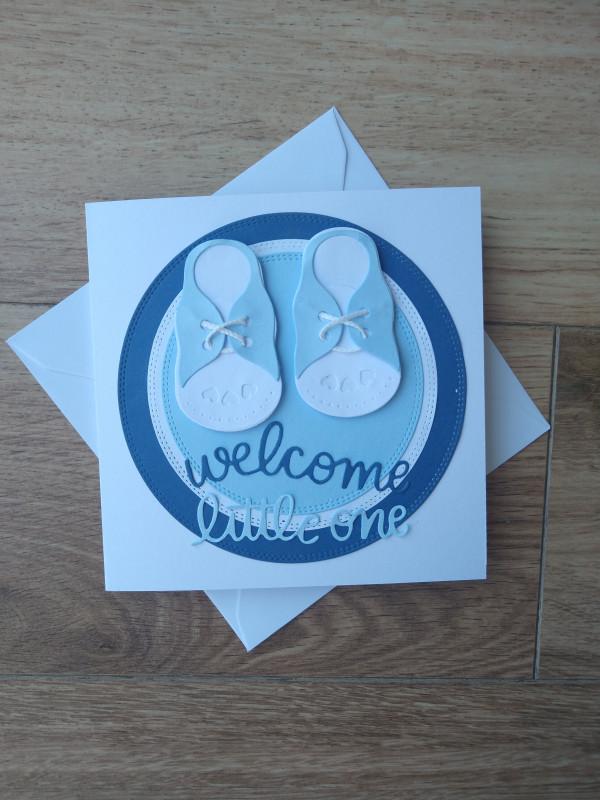 Handmade New Baby Card Baby Boy - IMG 20210417 1220270792 scaled