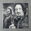 Sons Of Anarchy Tig and Opie Engraved on Ceramic Tile