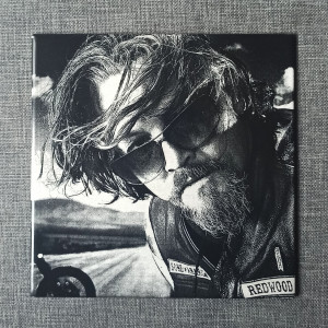 """Sons Of Anarchy Filip """"Chibs"""" Telford Engraved on Ceramic Tile"""