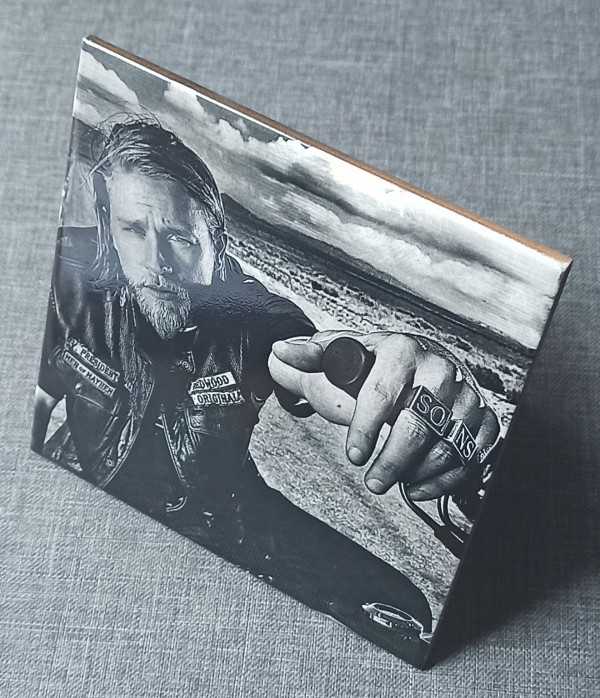 """Sons Of Anarchy Jackson """"Jax"""" Teller Engraved on a Ceramic Tile - IMG 20210802 1721402"""