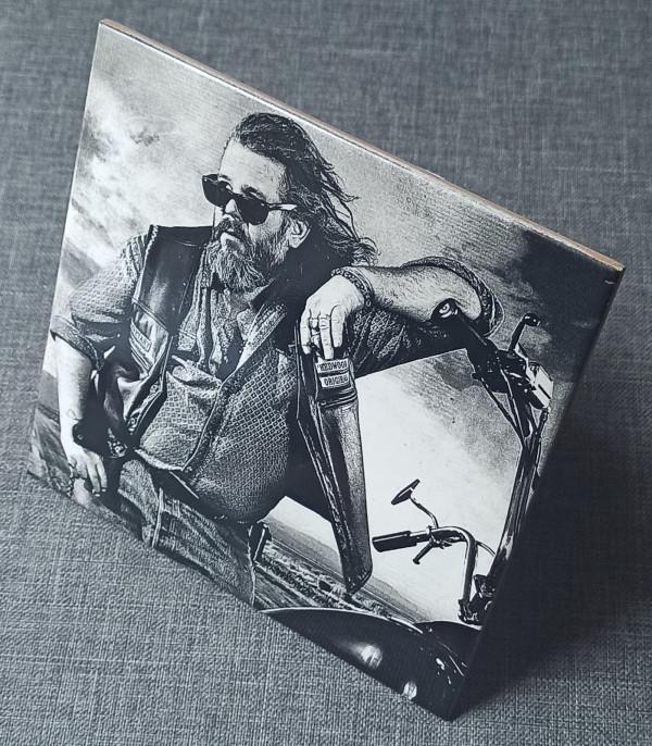 "Sons Of Anarchy Robert ""Bobby"" Munson Engraved on Ceramic Tile - IMG 20210802 1725442"