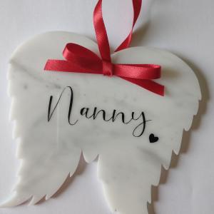 Wings Memorial Decoration