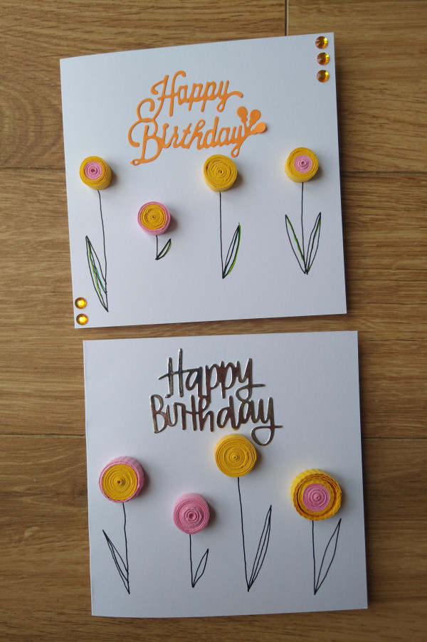 Quilled Flowers Birthday Card - IMG 20210817 1531537232 scaled
