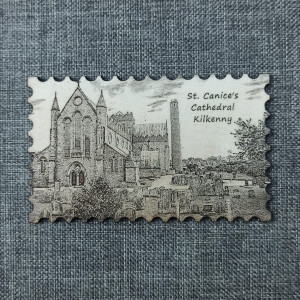 St. Canice's Cathedral Kilkenny Magnet