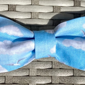 Dog Bow Tie By The Sea