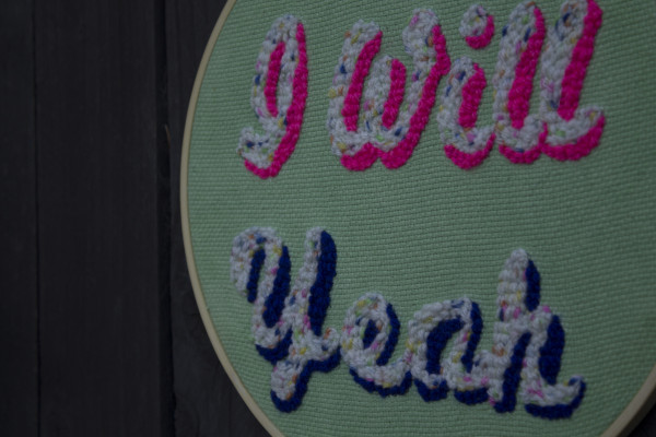 I Will Yeah Wallhanging - Iwillyeah3 scaled