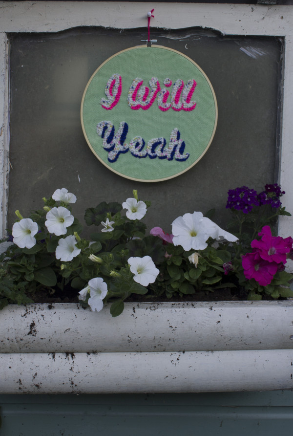 I Will Yeah Wallhanging - Iwillyeah4 scaled