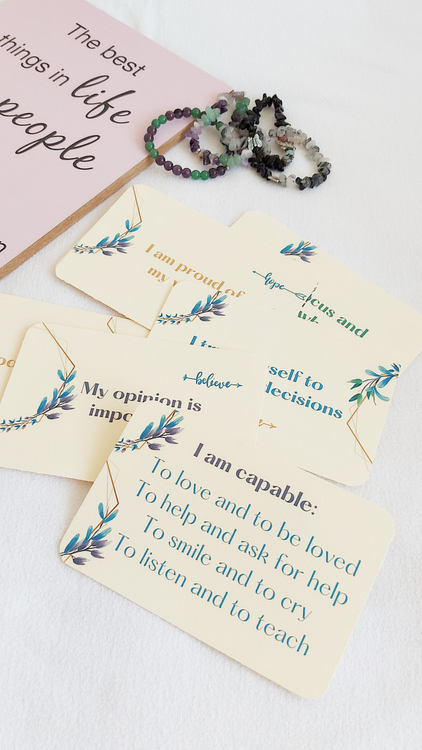 Self-Confidence Cards Personal Growth Affirmations - Lumii 20210811 201911985 scaled