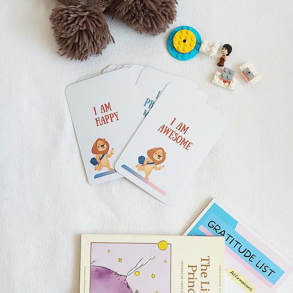 Kids Daily Affirmation Cards, Mix1 - Lumii 20210812 150103380