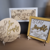 Free Standing Inspirational Wooden Signs