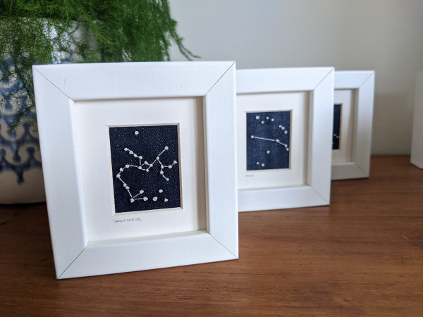 Saggitarius Star Constellations Miniature Frame - Sag 2 scaled