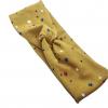 Mustard Stars Knot Headband