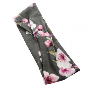 cherry blossom knot headband