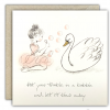 Put Your Trouble In A Bubble Greeting Card