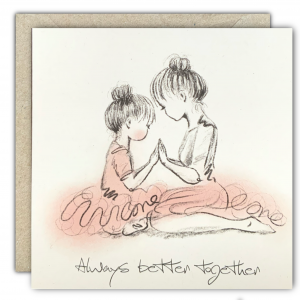Always Better Together Greeting Card