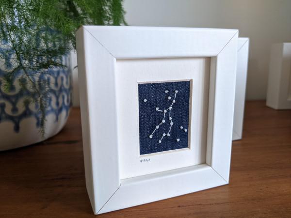 Virgo Star Constellations Miniature Frame