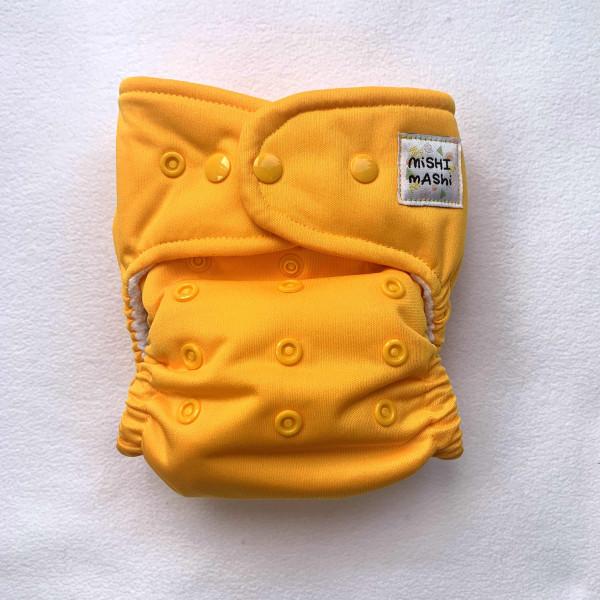 Yellow Pocket Cloth Nappy