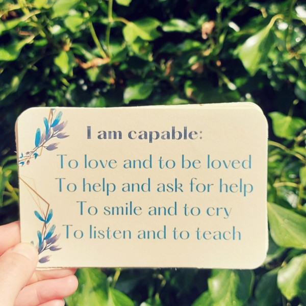 Self-Confidence Cards Personal Growth Affirmations - iMobile6 2