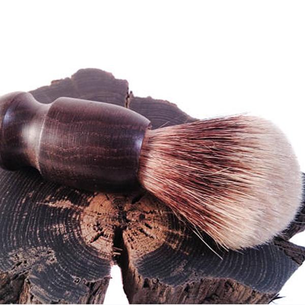 Irish Bog Oak Shaving Set -