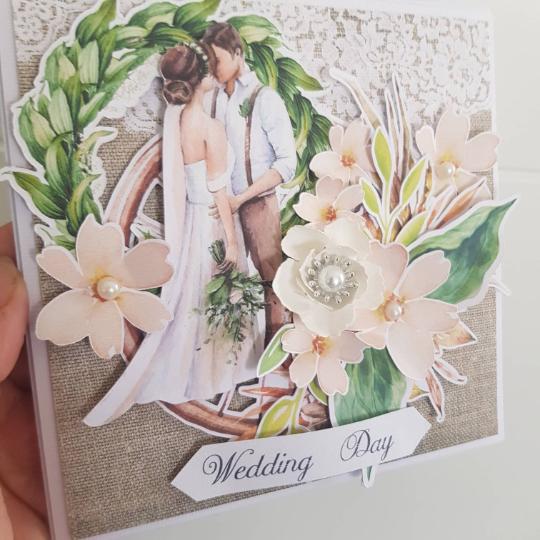 Rustic Handmade Box Wedding Card - pobrane 1