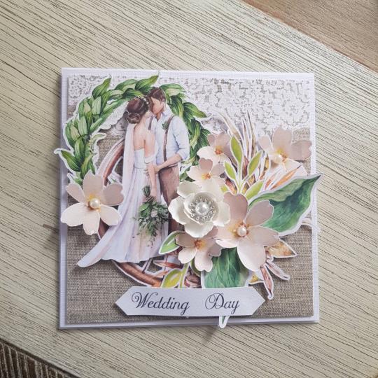 Rustic Handmade Box Wedding Card - pobrane 4