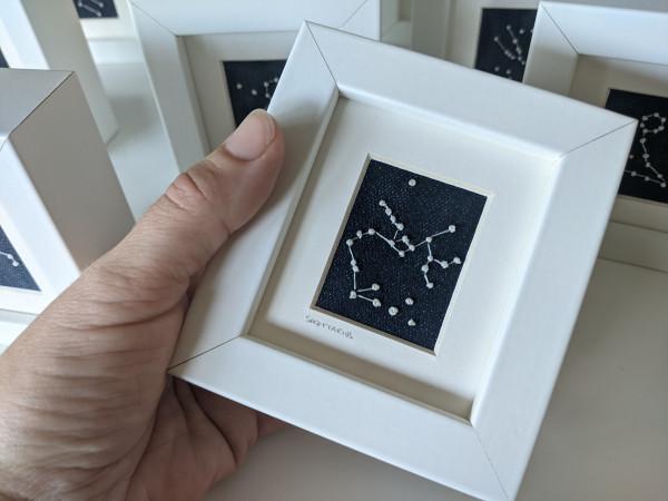 Saggitarius Star Constellations Miniature Frame - sagittarius scaled