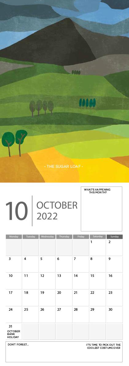 Landscape Ireland 2022 Calendar - 10 screen ready landscape calender 11