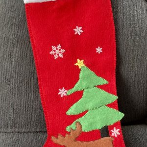 One-of-a-Kind Christmas Stocking