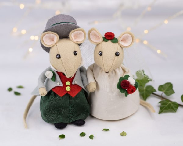 Mouse Wedding Topper PDF Sewing Pattern - 10th August 1831 scaled