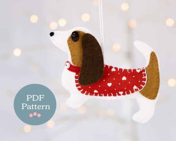 Brenda the Basset Hound PDF Sewing Pattern
