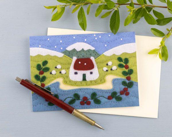 Irish Cottage Christmas Cards