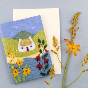 Irish Cottage Greeting Cards Pack of 5