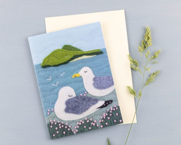 Seagull Greeting Cards Pack of 5