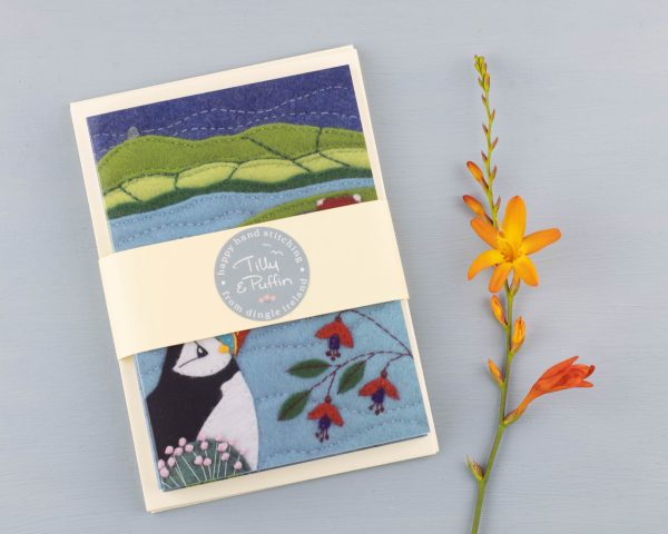 Puffin Greeting Cards Pack of 5 - 14th July 1507 scaled