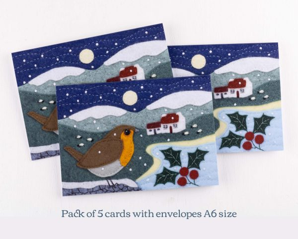 Robin Christmas Cards - 14th July 1525 text scaled