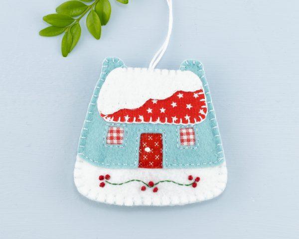Vintage Felt Christmas Ornament Set - 15th June 1119 scaled