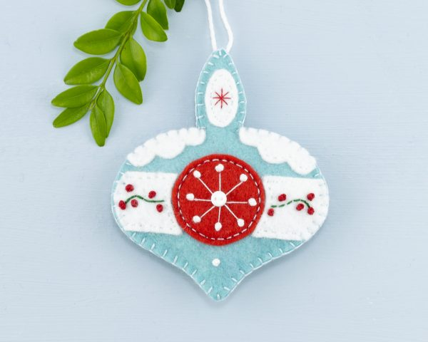 Vintage Felt Christmas Ornament Set - 15th June 1121 scaled
