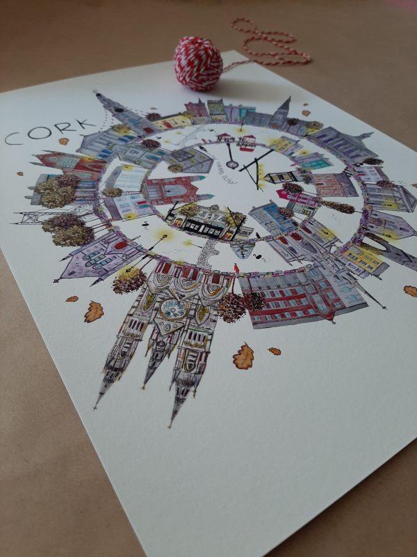 Cork City Fine A4 Fine Art Print - 20200511 093252 scaled