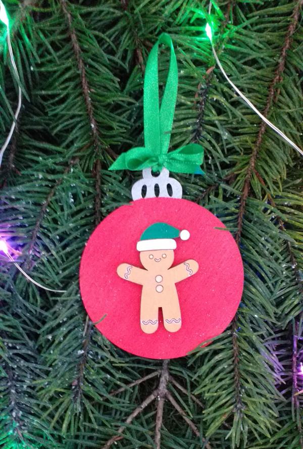 Christmas Gingerbread Man Decoration