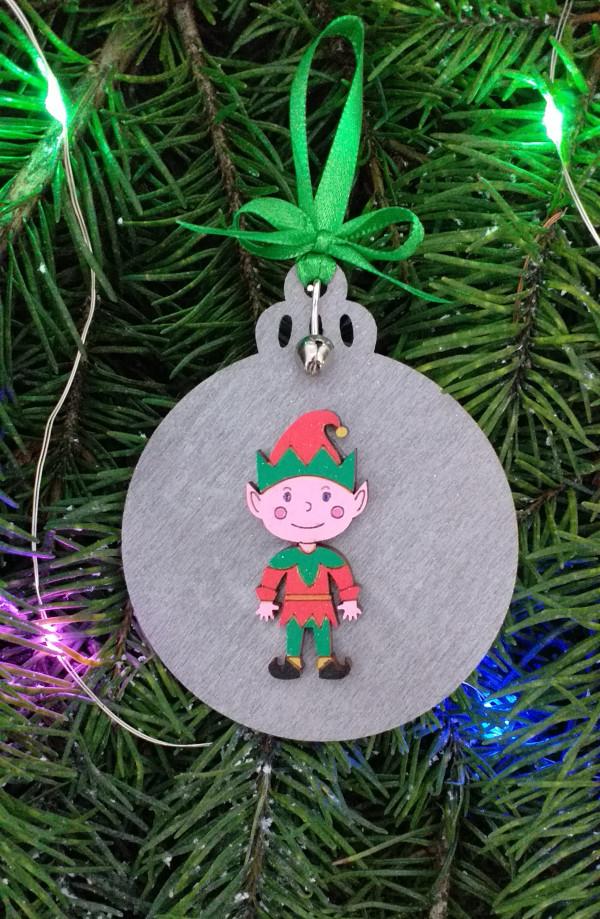 Christmas Elf Decoration